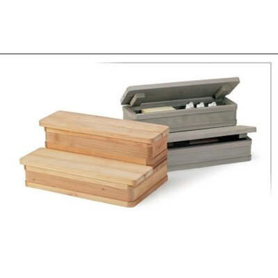 "A&B Accessories 36"" Two Tier Hybrid Storage Steps"