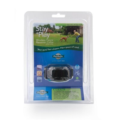 Pet Safe Stay and Play Dog Wireless Fence Receiver Collar
