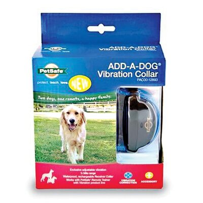 Pet Safe Add-A-Dog Vibration Collar