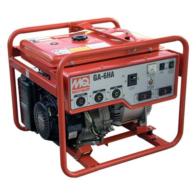 Multiquip 6,000 Watt Honda Portable Gasoline Generator with Electric Start