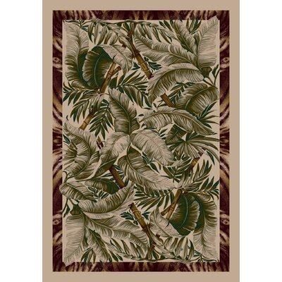 Signature Jungle Fever Pearl Mist Rug