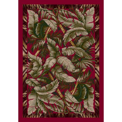 Signature Jungle Fever Ruby Rug