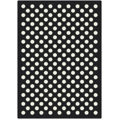 Milliken Black & White Eclipse Nightfall Rug
