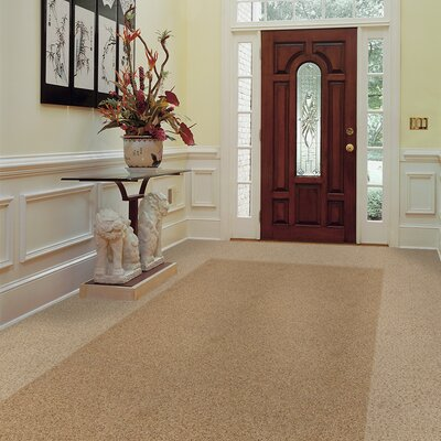 "Milliken Legato Embrace 19.7"" x 19.7"" Carpet Tile in Shaving Cream"