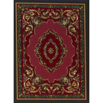 Milliken Innovation LaFayette Ruby Onyx Rug