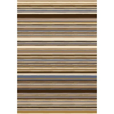 Milliken Innovation Lola Dark Amber Striped Rug