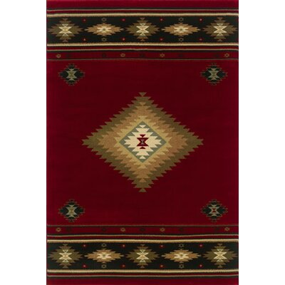 Oriental Weavers Sphinx Hudson Red/Green Rug