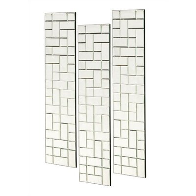 Howard Elliott Michelle Beveled Mirror Square Panels