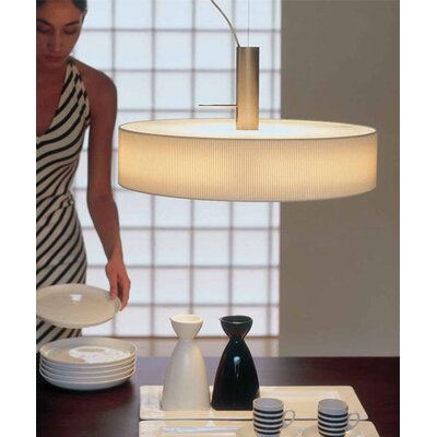 Vibia Duplo 1 Light Drum Foyer Pendant