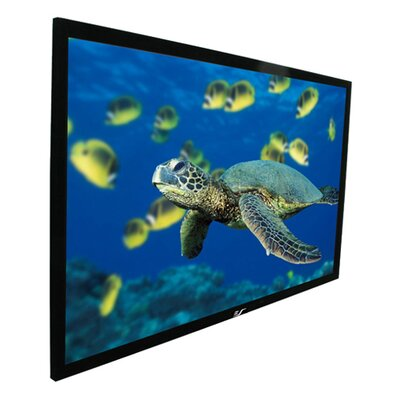 "Elite Screens CineWhite ezFrame Series Fixed Frame Screen - 200"" Diagonal"