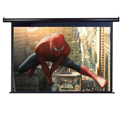 "Elite Screens MaxWhite VMAX2 Plus2 Series ezElectric / Motorized Screen - 150"" Diagonal in White Case"