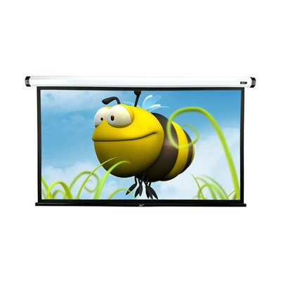 "Elite Screens MaxWhite-Fiberglass Home2 Series Electric / Motorized Screen - 100"" Diagonal"