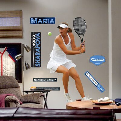 Maria Sharapova Wall Graphic