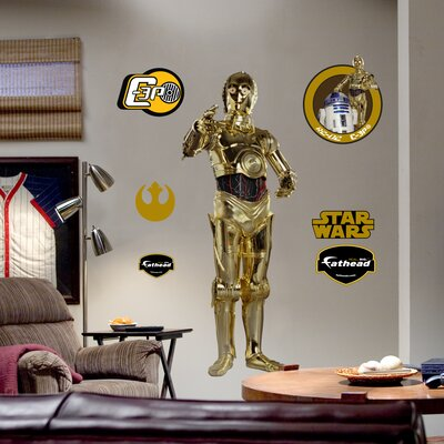 Fathead C-3PO Wall Graphic