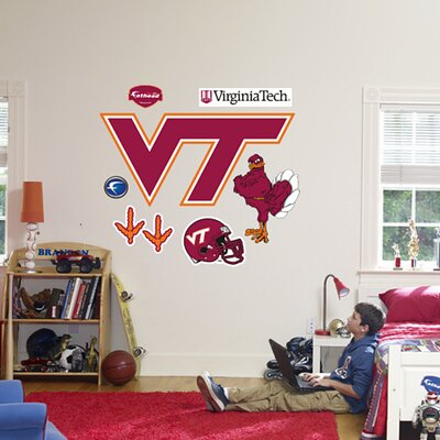 Fathead NCAA Logo Wall Graphic