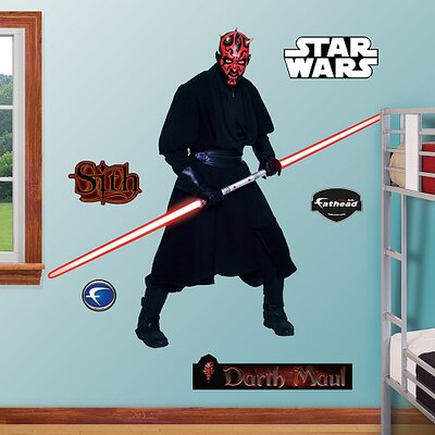 Fathead Darth Maul Wall Graphic