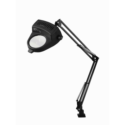 Lite Source Magnify-Lite Magnifier Lamp with Clamp in Black