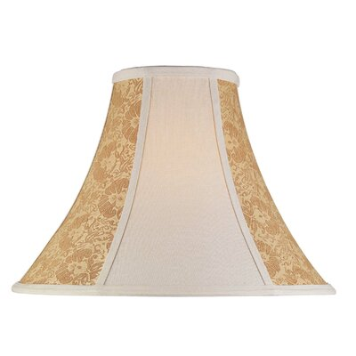 Lite Source Chandelier Bell Shade in Light Beige