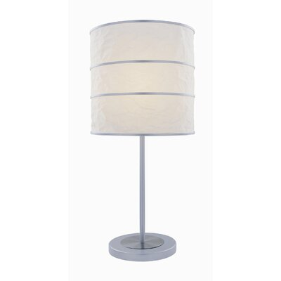 Lite Source Table Lamp in Polished Steel/Silver