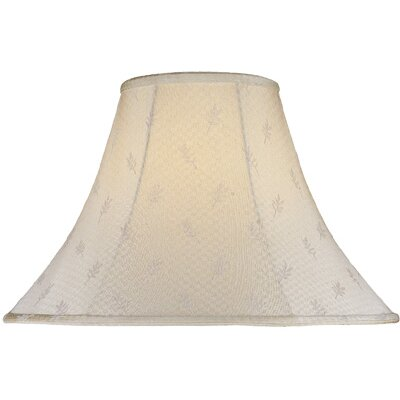 Lite Source Leaf Jacquard Bell Lamp Shade