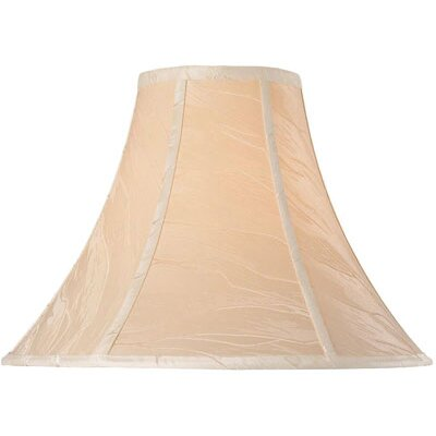 Lite Source Bell Lamp Shade in Beige Crinkled