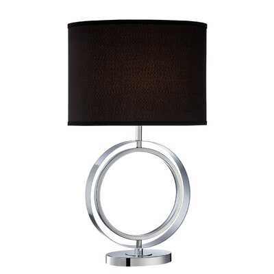 Lite Source Cosima One Light 150W Table Lamp in Chrome