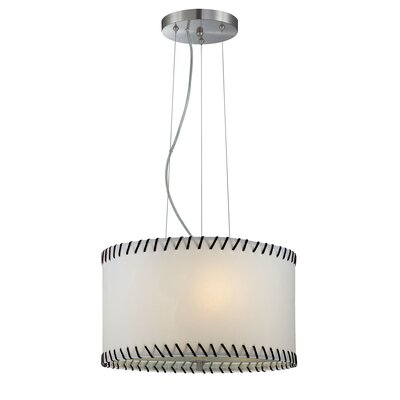 Lite Source Lavina 3 Light Drum Pendant