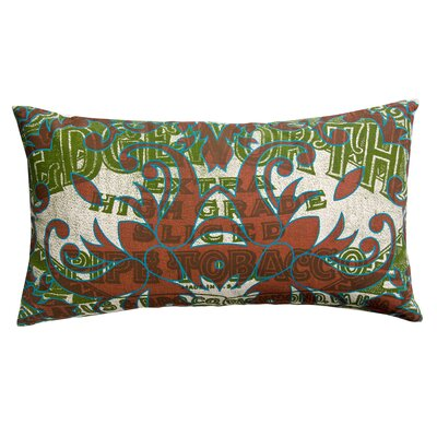 Koko Company Press Cotton Print Edgeworth Tabacco and Tile Pillow