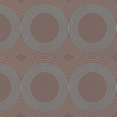 Graham & Brown Scope Aqua Wallpaper by Superfresco