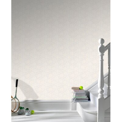 Graham & Brown Paintable Summer Wallpaper in White