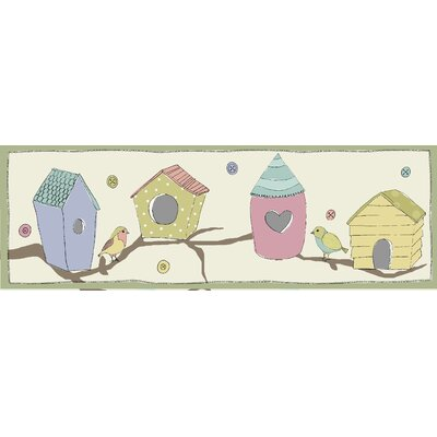 Graham & Brown Bird Houses Magnetic Canvas