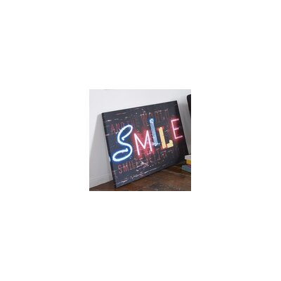 Graham & Brown Smile Canvas Wall Art