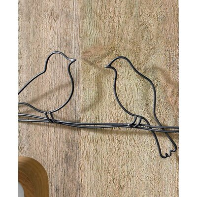 Graham & Brown Bird On A Wire Metal Art