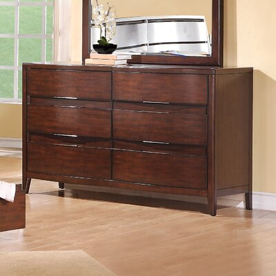 Pulaski Furniture Tangerine 6 Drawer Dresser