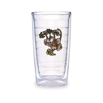 Monkey 16 oz. Banana Tumbler (Set of 4)