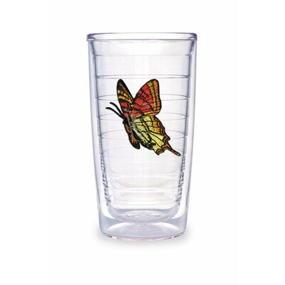 Tervis Tumbler Butterfly 16oz. Yellow Orange Tumbler (Set of 2)