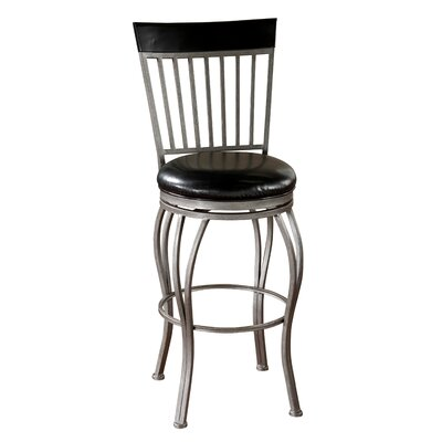 American Heritage Torrance Bonded Leather Stool