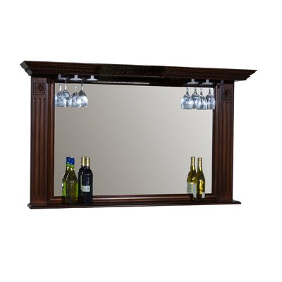 Napoli Mirror with Glass Holders in Sierra