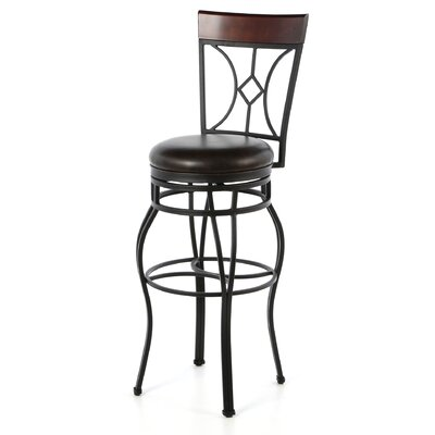 Starletta Bonded Leather Stool