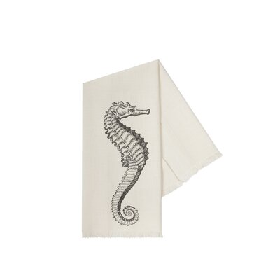 Thomas Paul Bath Sea Life Hand Towels in Charcoal (Set of 3)