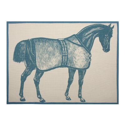 Thomas Paul Lexington Tea Towel in Lagoon