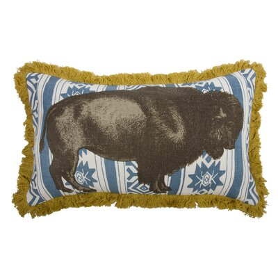 Thomas Paul Menagerie Bison Pillow