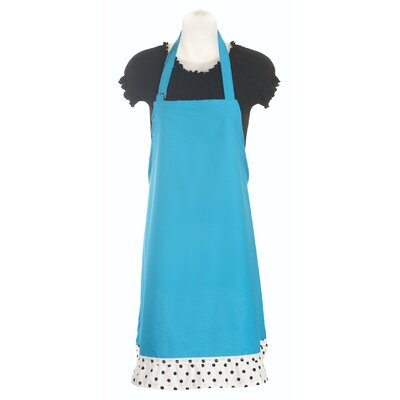Sassy Cook'n Stiletto Women's Apron in Lagoon Blue