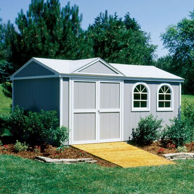 Handy Home Premier Series Somerset Wood Storage Shed