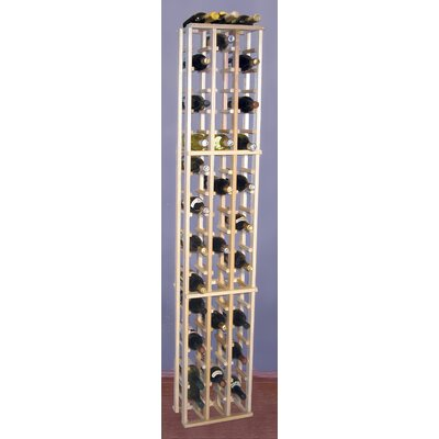 Wine Cellar Innovations Premium Redwood 63 Bottle Wine Rack