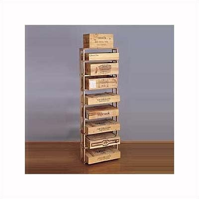 Premium Redwood 108 Bottle Wine Rack