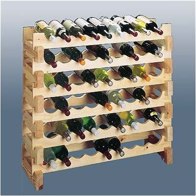 Wine Cellar Innovations Country Pine 9 Bottle Wine Rack (Set of 2)