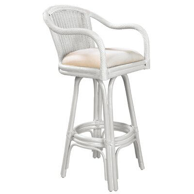 Hospitality Rattan Key West Bar Stool with Cushion