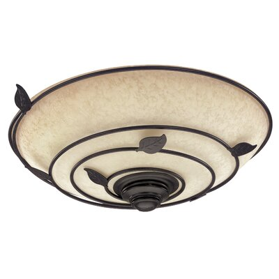 Hunter Fans Organic Bathroom Exhaust Fan in Light Brittany Bronze