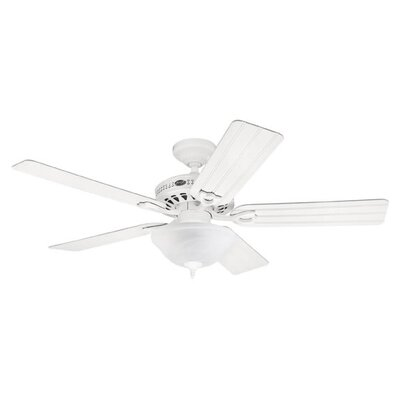 "Hunter Fans 52"" Beachcomber 5 Reversible Blade Ceiling Fan"